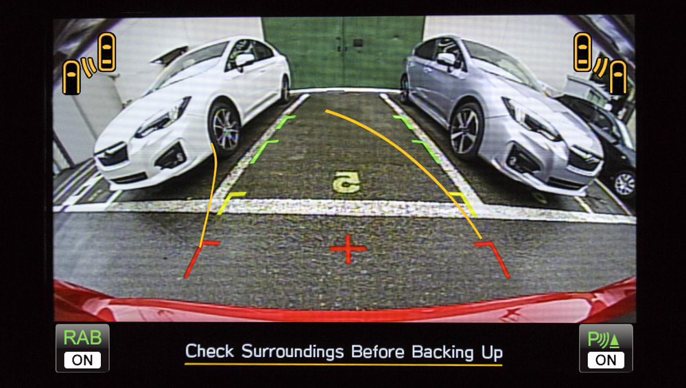 2017 Subaru Impreza Rearview Camera